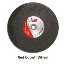 Red Cut Off Wheel