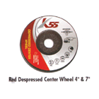 Red Depressed Center Wheel 1