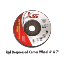 Red Depressed Center Wheel