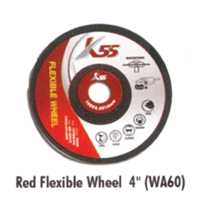 Red Flexible Wheel WA60 4