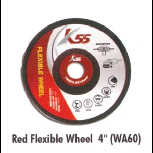 Red Flexible Wheel WA60 4