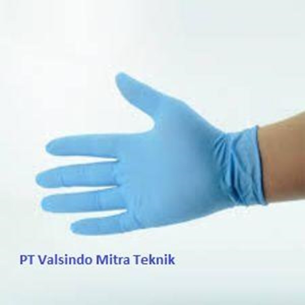 Glove Blue Nitrill Foodgrade Powder Free