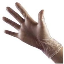 Glove Vinyl Clear Powder Free