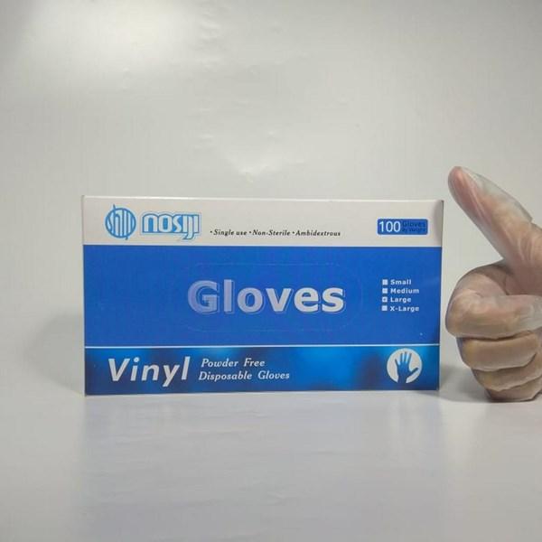 Sarung Tangan Vinyl Clear Powder Free