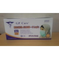 Beli Masker 3Ply Disposable HeadLoop GP Care 4