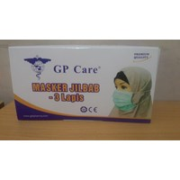 Masker 3Ply Disposable HeadLoop GP Care
