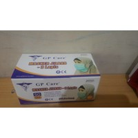 Distributor Masker 3Ply Disposable HeadLoop GP Care 3