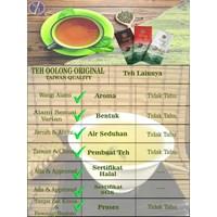 Distributor Minuman Teh Oolong  Hijau Original Sachet (Taiwan Quality) 3