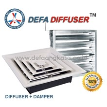 Air Diffuser + Damper