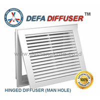 Air Diffuser Hinged Diffuser Man Hole