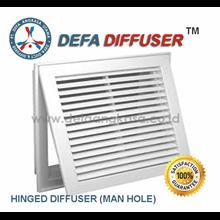 Air Diffuser Hinged Diffuser Man Hole