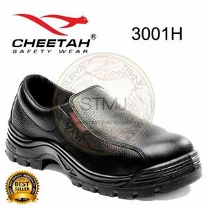 Sapatu safety cheetah 3001 hitam