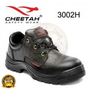 Saepatu safety cheetah 3002 hitam