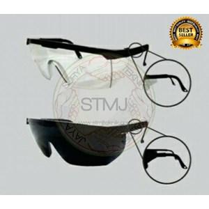 Kacamata las black / clear