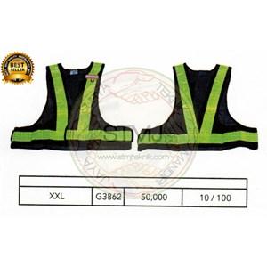 Rompi proyek / safety vest G3862