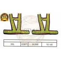 Rompi proyek / safety vest G3871 1