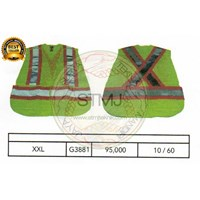 Rompi proyek / safety vest G3881 1