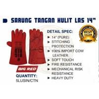 Jual Sarung tangan kulit las 14
