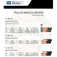 Kawat las weldtex 4
