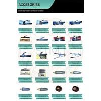 Aksesoris electrode holder dan kabel konektor
