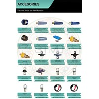 Jual Accesories electrode holder dan kabel konektor 2