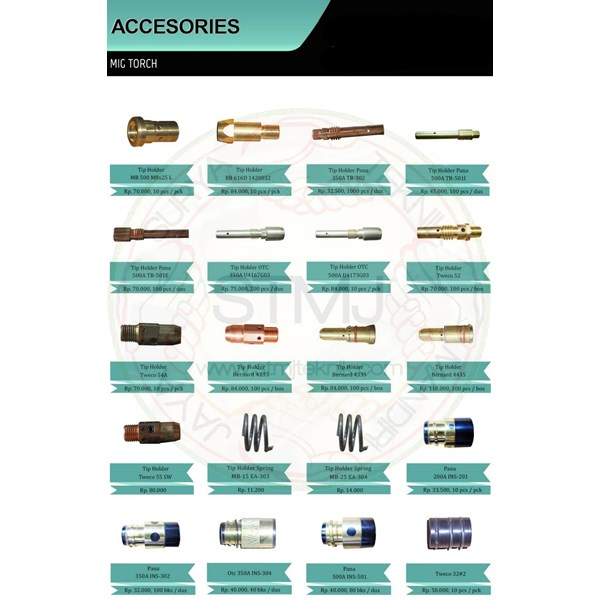 Accesories mig torch 5