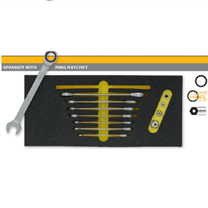 Module Combination Spanner With Ring Ratchet OMS -30