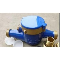 water meter amico 1 inch horizontal