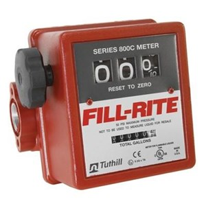 Fill-Rite Series 800 Electric Fuel Transfer Pump Flow Meter