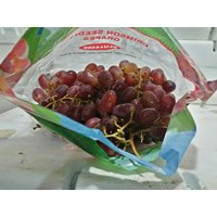 Jual Buah Anggur Merah Crimson Seedless Red Grape 2