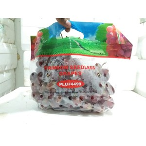 Buah Anggur Merah Crimson Seedless Red Grape