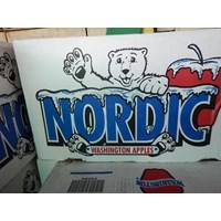 Buah Apel Merah America Nordic 1