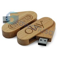Flash Disk Kayu Murah 5