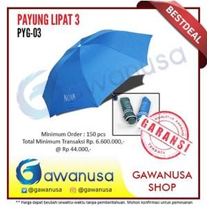 Payung Promosi Lipat 3