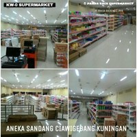 Beli Panda Rak Supermarket S4 Wall Gondola Start 4 Layer 4