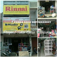 Panda Rak Supermarket D4 Island Gondola Start 4 Layer (Hero) Murah 5