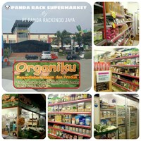 Jual Panda Rak Supermarket D4 Island Gondola Joining 4 Layer (Hero) 2