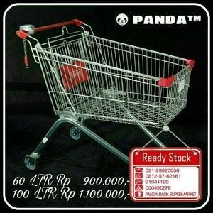 Panda Supermarket Troli 60Ltr