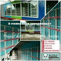 Beli Panda Rak Supermarket S4 Wall Gondola Starting 4