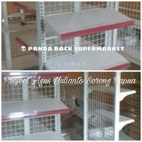 Distributor Panda Rak Supermarket S4 Wall Gondola Starting 3