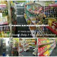 Beli Panda Rak Supermarket E4 End Gondola 4