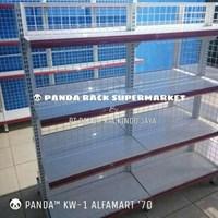 Jual Panda Rak Supermarket D4 Island Gondola Joining 2