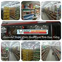 Distributor Panda Rak Supermarket D4 Island Gondola Joining 3