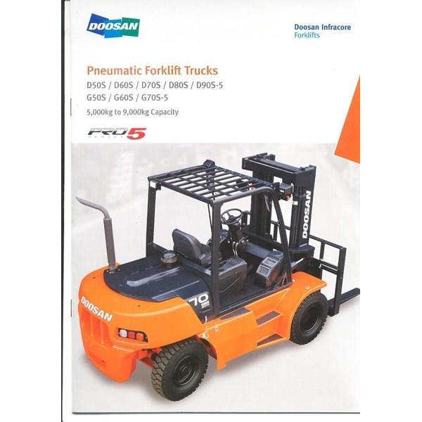 Forklift Diesel Doosan 7 Ton