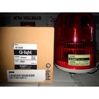 Jual S100r Bulb Revolving Warning Light Merk Q Light ( Lampu Strobo Beacon )  1
