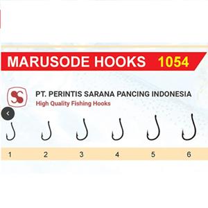 Mata Pancing Marusode 1054 Nomor 1-6