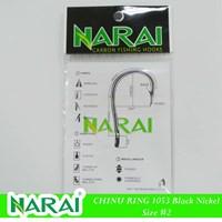 Mata Kail Pancing NARAI Type 1053 Chinu Ring Size 2 Murah 5