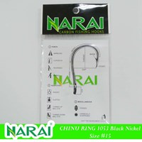 Fishing Hook NARAI Type 1053 Chinu Ring Size 15 Cheap 5