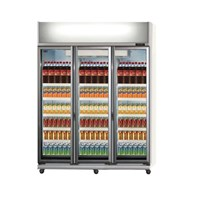 GEA EXPO-1300AH-CN Display Cooler Kulkas Showcase 1300 Liter - Silver 1