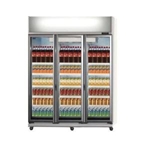GEA EXPO-1300AH-CN Display Cooler Kulkas Showcase 1300 Liter - Silver